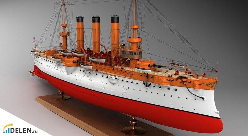 3D-модель корабля