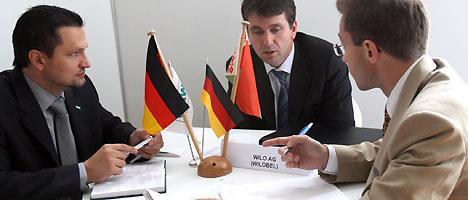 """Бизнес-встреча белорусских и немецких партнеров в рамках форума """"Инвестиции для развития бизнеса и регионов"""""""