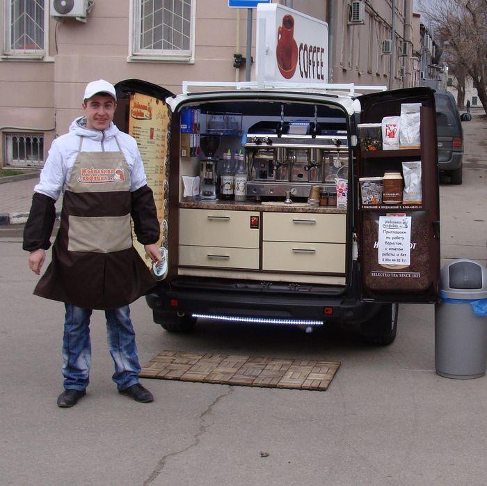 Составление бизнес плана мобильной кофейни с кофемашиной