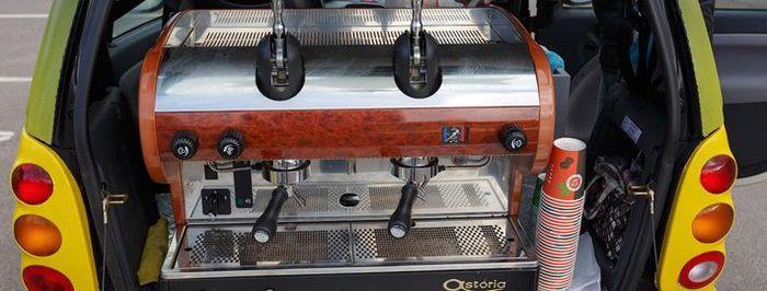 Правила открытия мобильной кофейни с использованием кофемашины