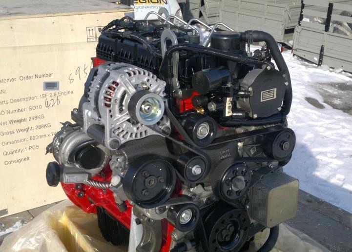 Дизельный двигатель Cummins ISF 2.8L