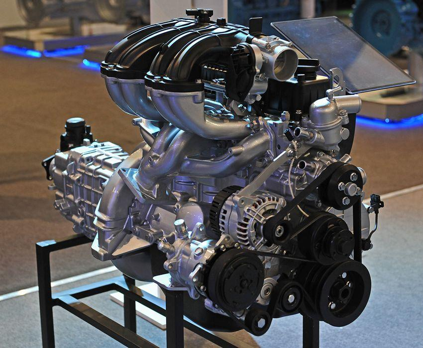 Двигатель Evotech 2.7 на стенде