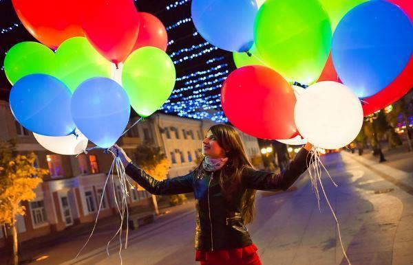 Изготовление светящихся шаров