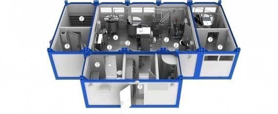 Пример модульного мини завода