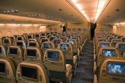 места бизнес класса в самолете