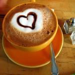 Рисунок чашки с ароматным кофе