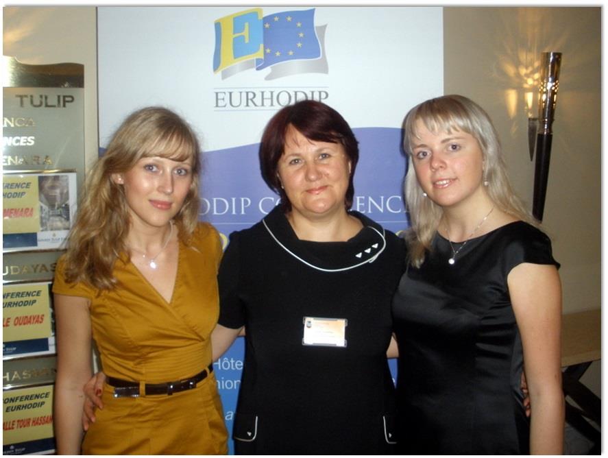 Победители конкурса, проводимом Ассоциацией ведущих гостиничных школ Европы — EURHODIP