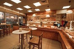 Пекарня рядом с метро.