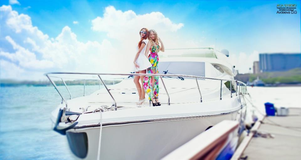 фотосессия на яхте