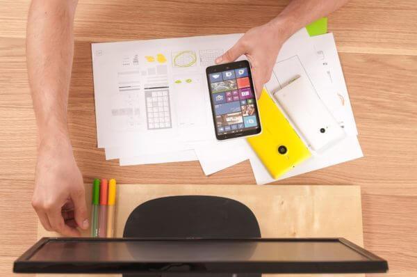 Мобильные приложения для бизнеса - рабочий стол