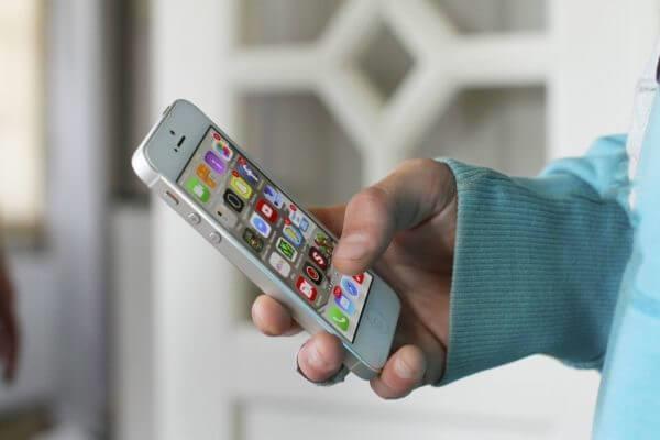 Мобильные приложения для бизнеса - смартфон