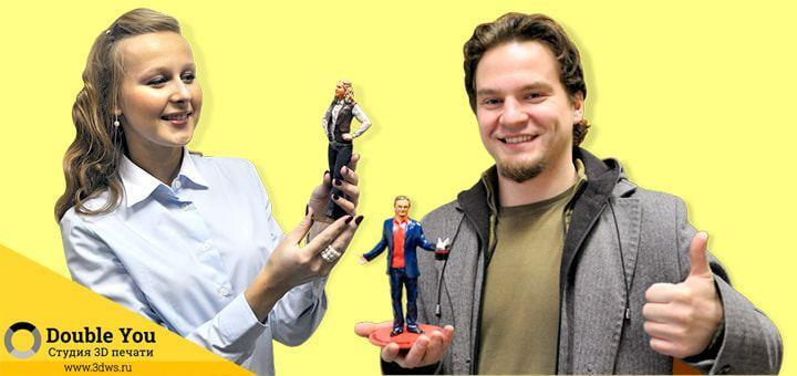 Создание статуэток по фотографии или с помощью 3d сканирования