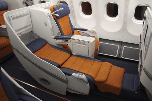 Бизнес-класс авиакомпании Аэрофлот