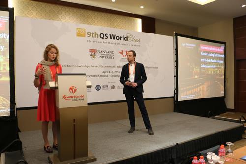 Дарья Козлова на QS World Class. Источник: http://www.qsworldclass.com/9thqsworldclass/
