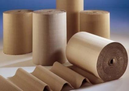 Рулоны оберточной бумаги