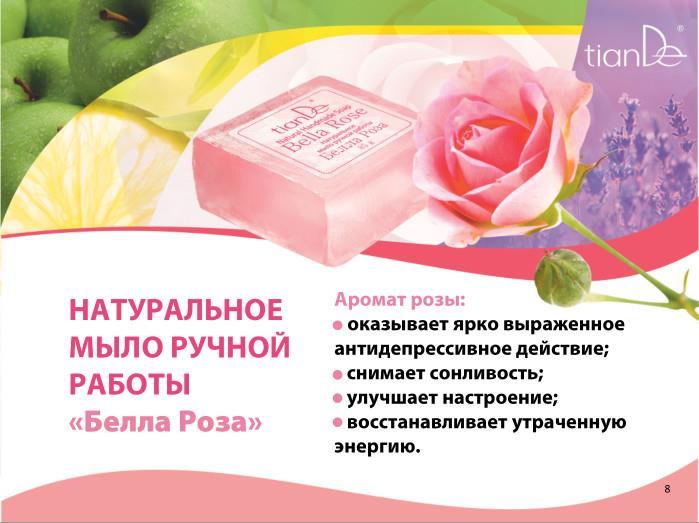 Пример рекламного плаката для мыла ручной работы