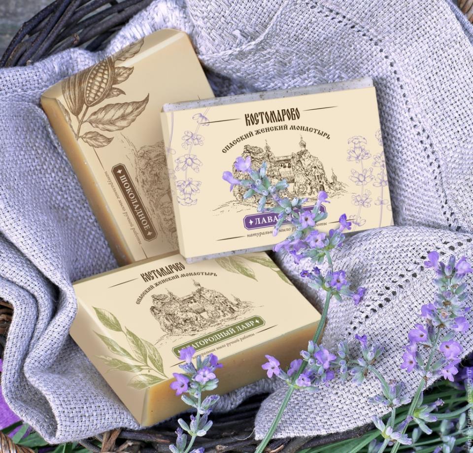 Образец упаковки для мыла ручной работы