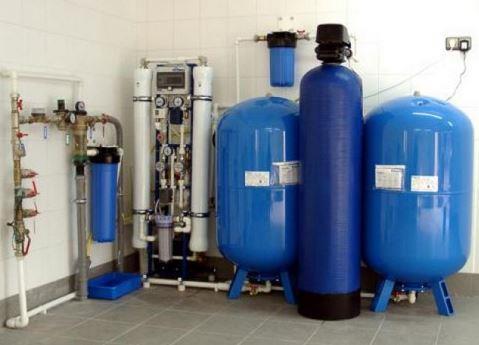 Оборудование для очистки впитьевой воды.