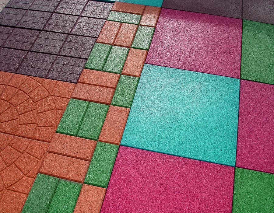 Изготовление резиновой плитки на дому