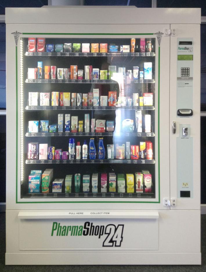 Вендинг фармацевтики еще не столь распространен в России, но очень востребован