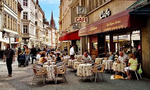 Кафе за границей
