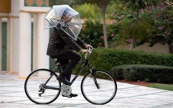 Зонт без ручки