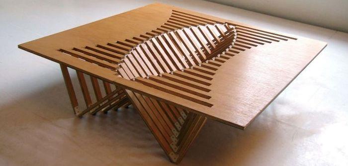 фанерная мебель