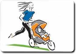 Бизнес идея № 2047. Фитнес в парках для мамочек с детьми