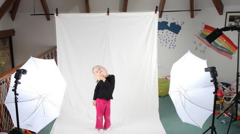 Организация домашней фотостудии для детей