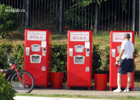 вендинг на автоматах по продаже воды