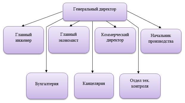 Типичная структура предприятия