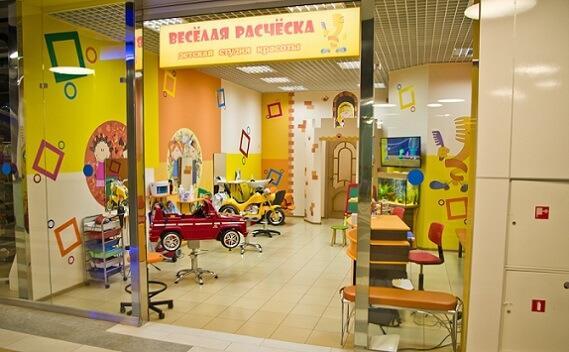 помещение для парикмахерской