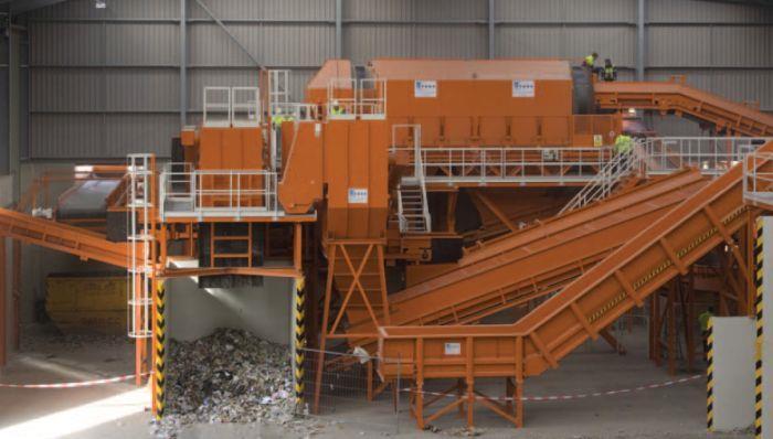 Технология процесса переработки мусора